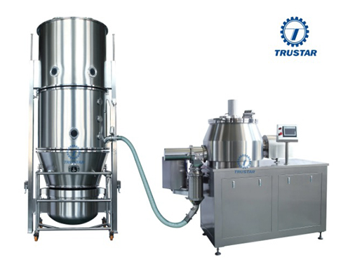 Fg-30 Fluid Bed Coating Machine