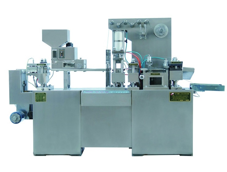 pharmaceutical capsule blister packaging and cartoning machine